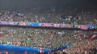 The best moments of Northern Irish sing Will griggs on fire Gala Euro 2016 France