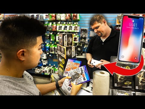 Xxx Mp4 TRADING A FAKE IPHONE X AT GAMESTOP 3gp Sex