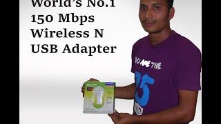 TP LINK PC ,WIRELESS N , USB ADAPTER REVEW ....