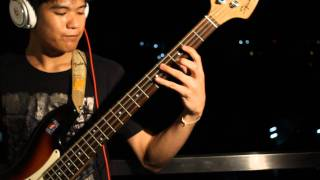 [Rocker] Avenged Sevenfold - Almost Easy [Cobus - Drum Cover] And Bass Cover By Kang 1080-HD