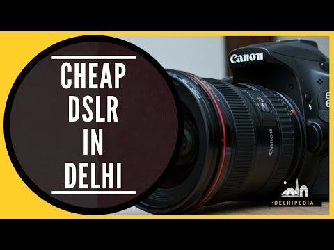 Snappy Camera Market in Old Delhi