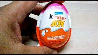 Kinder Joy For Girls Surprise Egg Unboxing & Making Toys [HD VIDEO]