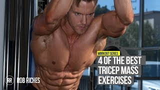 4 BEST Triceps Exercises for SIZE & SHAPE [CC]