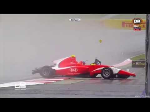 Xxx Mp4 GP3 2016 Race 2 Red Bull Ring Tatiana Calderón Jake Dennis Charles Leclerc Crashes 3gp Sex