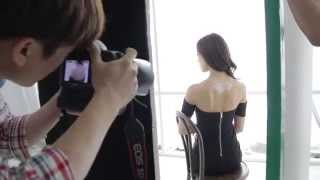 NUDE Chain - Korean Model Silver Photoshoot (Behind the Scenes)