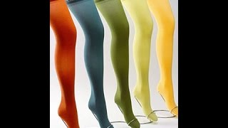 Compression Stockings Tell All! How to Put Them On, Style Choices, Etc
