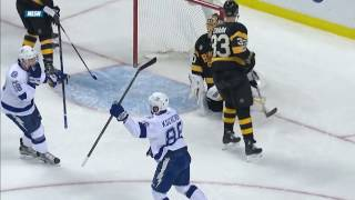 Bruins & Lightning trade scores in 24 seconds