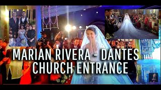 Marian Rivera-  Church Entrance