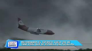 NOTA RECORDAMOS EL FATÍDICO VUELO 204 DE TANS PERU-PROGRAMA DIVERTITARDE (UTV)