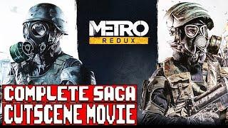 Metro 2033/Last Light Redux Complete Saga All Cutscenes (Game Movie)