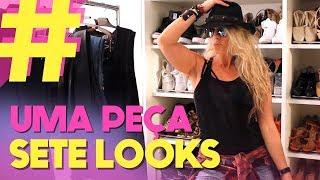 Desafio de Moda: 7 looks 1 peça | Adriane Galisteu