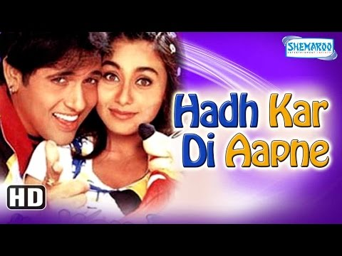 Xxx Mp4 Hadh Kar Di Aapne HD 2000 Superhit Comedy Film Govinda Rani Mukherji Jhonny Lever 3gp Sex