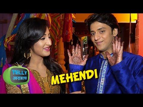Awww! Aryan Writes Sanchi's Name On His Hand | Ek Rishta Saajhedari Ka