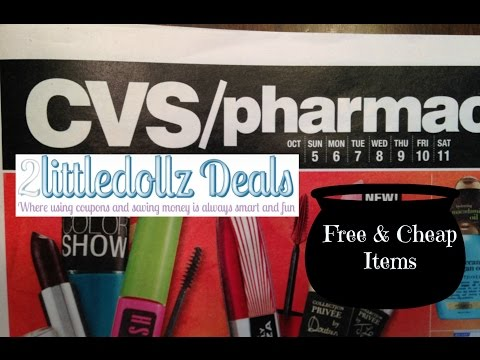 CVS Sales Circular Preview With FREE and CHEAP Coupon Match up 10/5/14 to 10/11/14