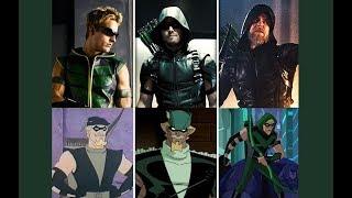 Arqueiro Verde - Evolução em séries e animações