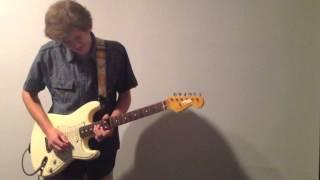 Wiz Khalifa ft. Cam'ron -- 'The Bluff' guitar jam