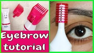 **New Veet Electric Trimmer | Eyebrow Shaping |Tanutalks|