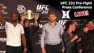UFC 232:  Jones vs Gustafsson 2 / Cyborg vs Nunes Pre-Fight Press Conference (LIVE! / HD)