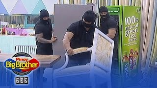 PBB 737: Men in black goes inside the house