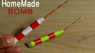 How to make simple fuse BOMB at home - homemade weapons