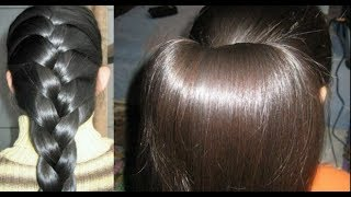 (ممتازة) ضعيها على شعر بالليل ولن تصدقي النتيجة شعر ناعم كثيف كشعر الهنديات