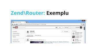 Zend Framework vDOI - Routele