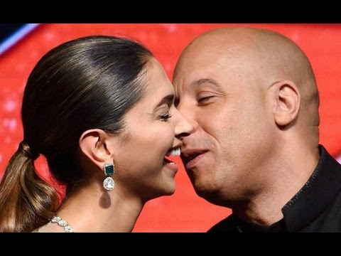 Vin Diesel Kiss Deepika Padukone On Stage