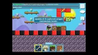 Cara buat Id Door di Growtopia