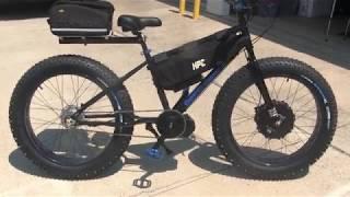 6000w/2000w 60mph FAT BIKE - MOUNTAIN MONSTER X DUAL MOTOR