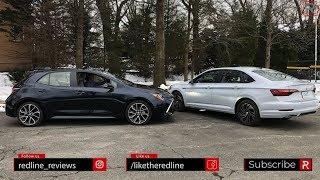 2019 Toyota Corolla Vs. 2019 Volkswagen Jetta – Battle For Compact Car Supremacy!