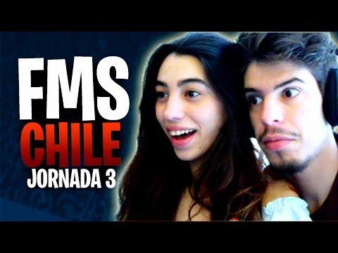 FMS CHILE Jornada 3 FMSCOQUIMBO🔥 Reacciones EN DIRECTO