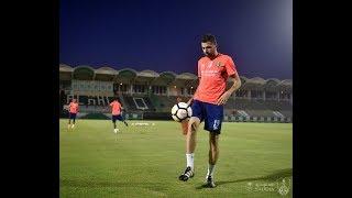تدريبات الفريق الأول للنادي الأهلي _ السبت 10 مارس  2018
