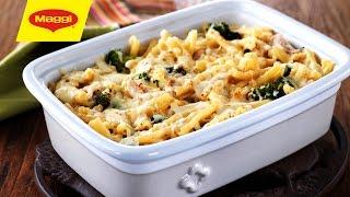 Chicken and Broccoli Gratin : MAGGI® Recipe - غراتان الدجاج والبروكولي