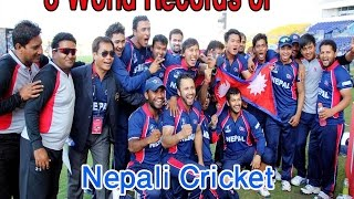 8 World Records by Nepali Cricket