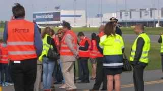 Airbus A330 CSA, OK-YBA, Delivery flight, 14.5.2013