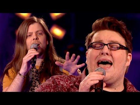 The Voice UK 2013   Ash Morgan Vs Adam Barron - Battle Rounds 1 - BBC One