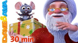 🎅🏻 Christmas Songs for Kids | Santa Claus and More Christmas Carols from Dave and Ava 🎄