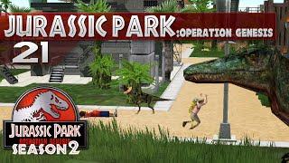 Jurassic Park: Operation Genesis || 21 || Dinosaurs Eat People