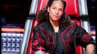 Alicia Keys responded to Adam Levine's no-makeup comment