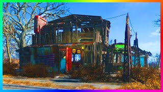 FALLOUT 4 BASE BUILDING GAMEPLAY! - Setting Up Homes, Epic Settlements & MORE! (Fallout 4)