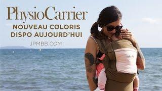 Le PhysioCarrier Safari poche Rosé en balade à la mer