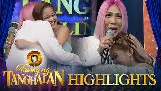 Tawag ng Tanghalan: Vice Ganda is moved by Janine's performance