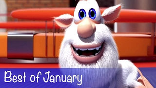 Booba - Compilation of all episodes - Best of January - Cartoon for kids