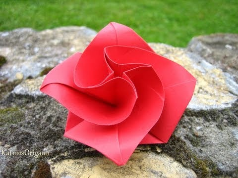 Origami ※ Diamondrose Squarejumper ※ Spinner
