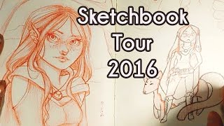 Sketchbook Tour 2016