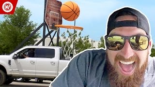 Dude Perfect   The Making Of Giant Basketball Trick Shots