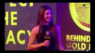 Peoples choice Behindwoods Gold Medal - Samantha