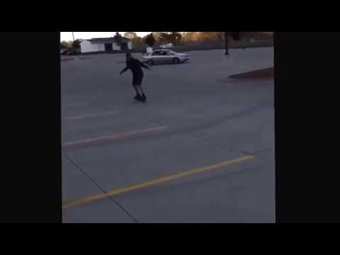 HE WENT FLYING!!!! Hilarious vine!