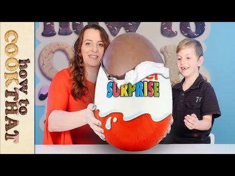 Xxx Mp4 GIANT KINDER Opening 20 YEAR OLD Kinder Surprise Eggs How To Cook That 3gp Sex