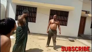 Funny holi in india